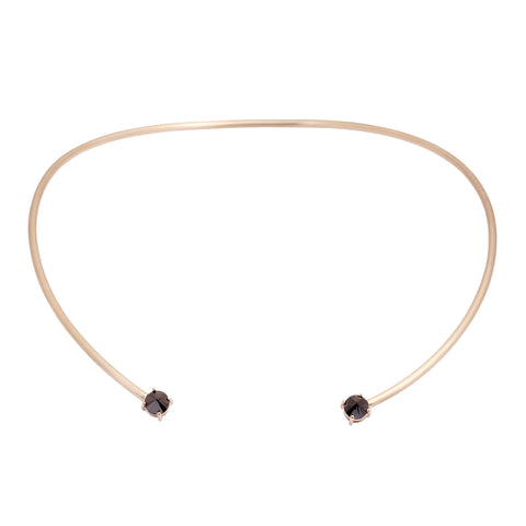 White Gold Choker