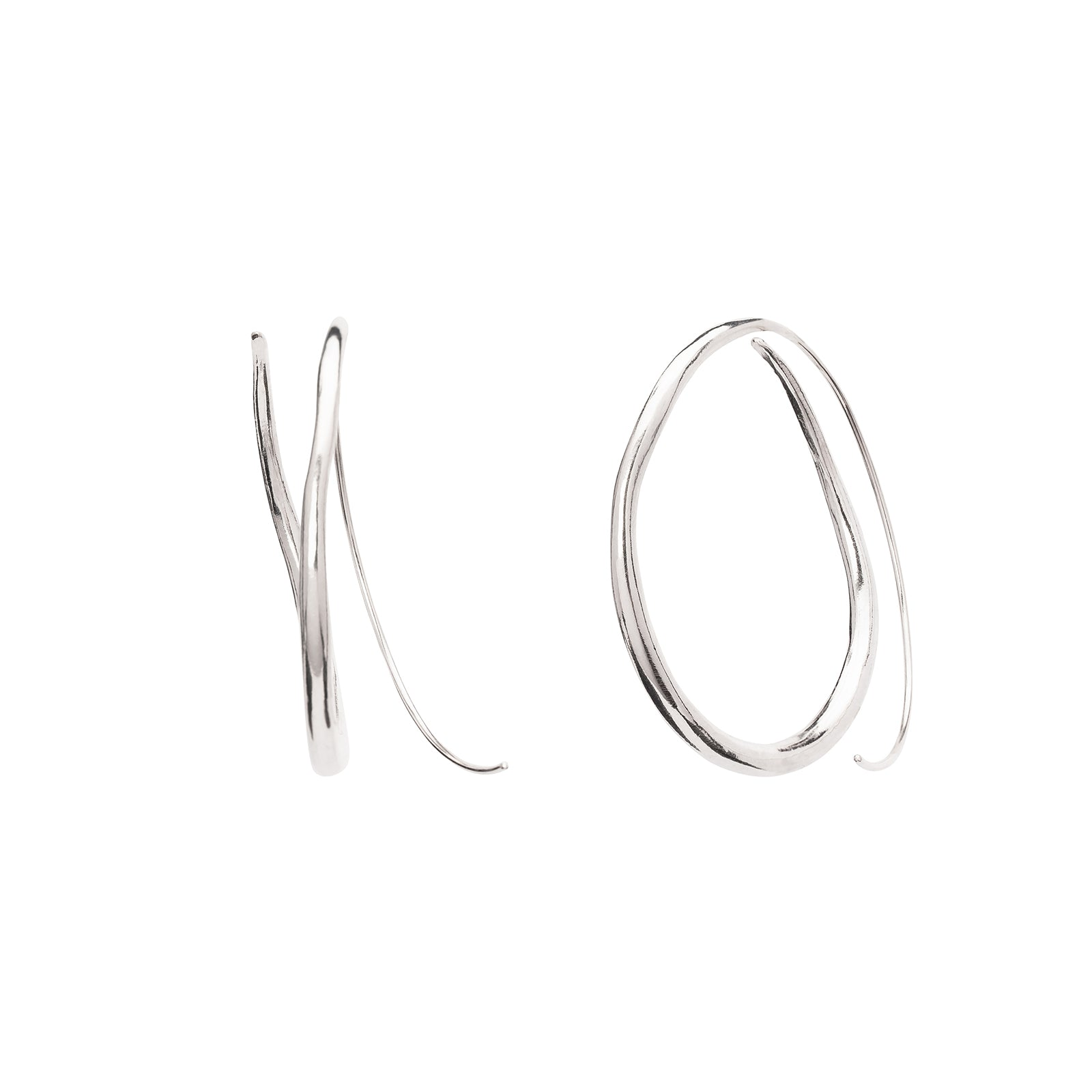 Ariana Boussard-Reifel Koko Earrings - Silver - Earrings - Broken English Jewelry