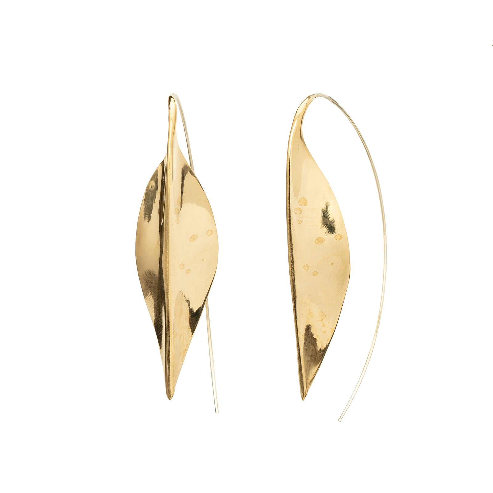 Ariana Boussard-Reifel Ishtar Earrings - Brass - Earrings - Broken English Jewelry