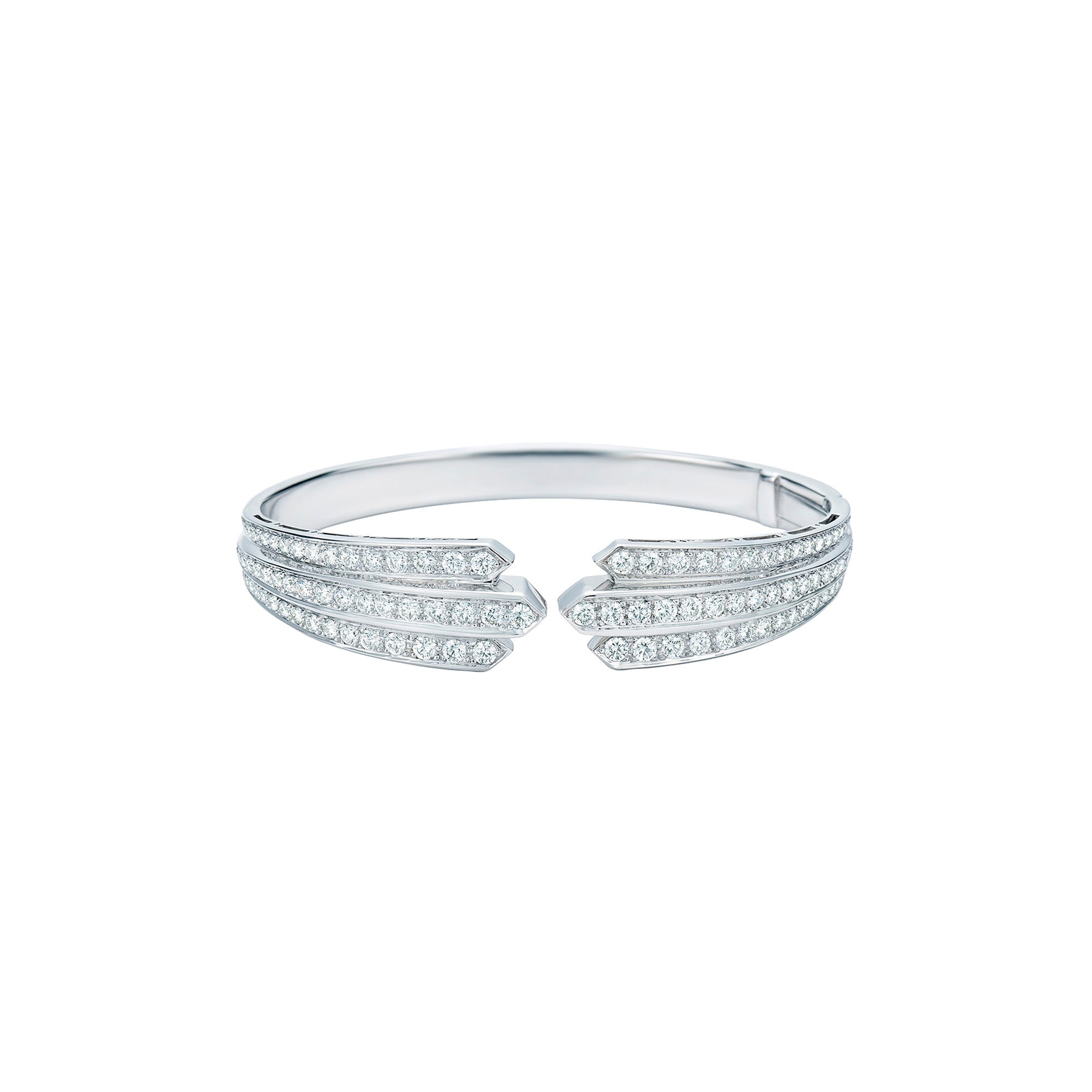 Kwiat Cascade Diamond Cuff - Bracelets - Broken English Jewelry