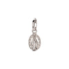 Gigi Clozeau Madone Pendant - White Gold - Charms & Pendants - Broken English Jewelry