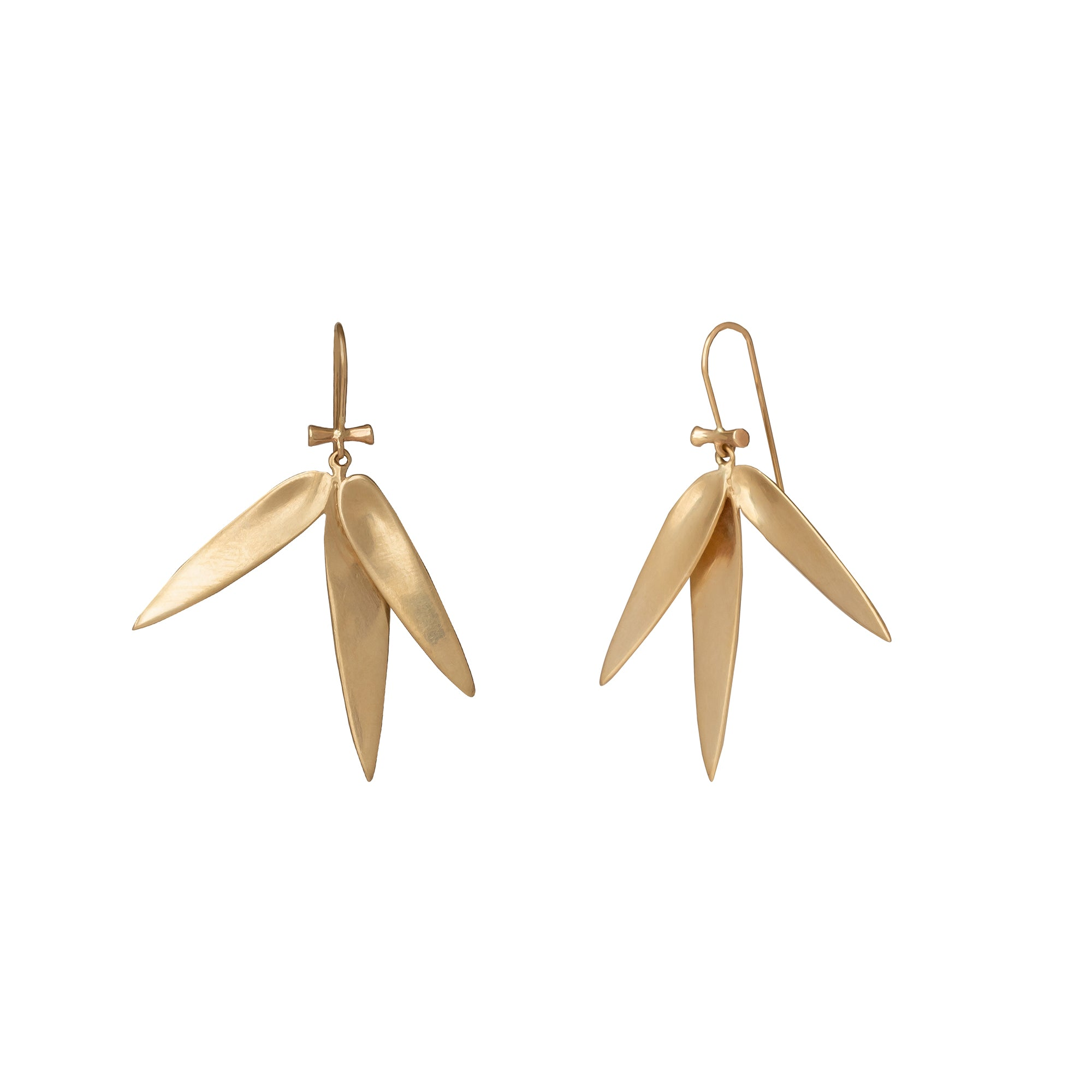 Medium Bamboo Earrings - Annette Ferdinansen - Earrings | Broken English Jewelry
