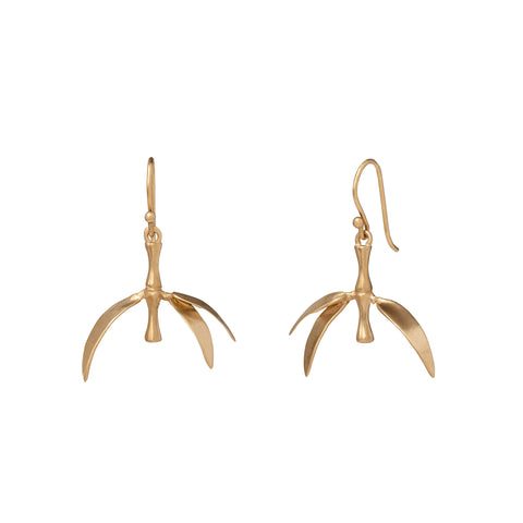 Small Bamboo Earrings