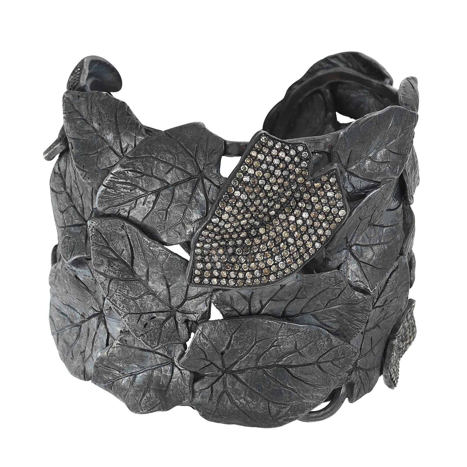 Aida Bergsen Leaf Cuff - Bracelets - Broken English Jewelry
