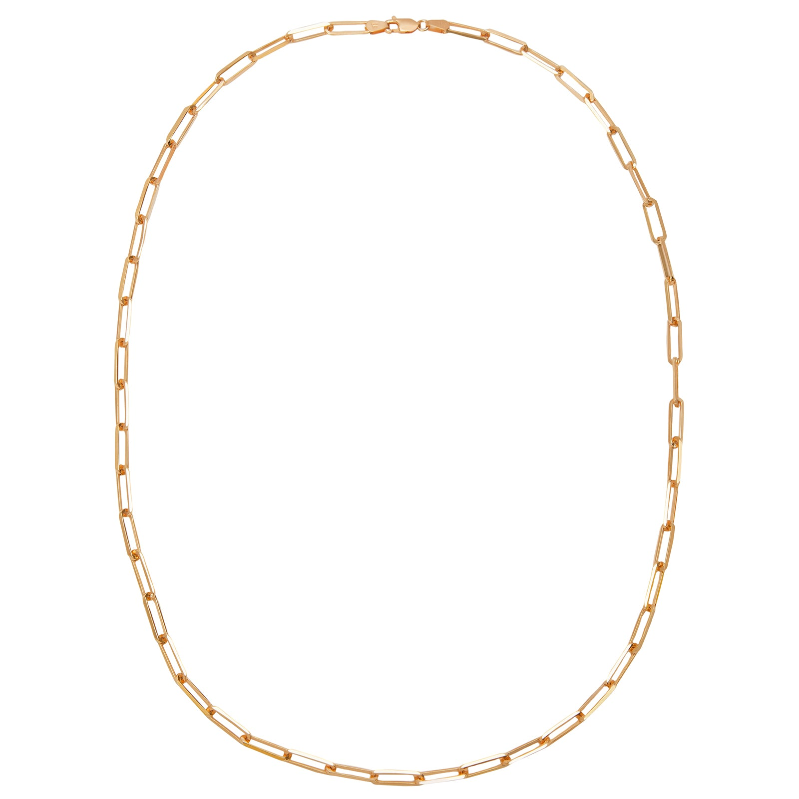 "Broken English 22"" XL Elongated Link Chain - Necklaces - Broken English Jewelry"