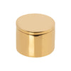 BE Home Round Architectural Brass Box - Medium - Home & Decor - Broken English Jewelry