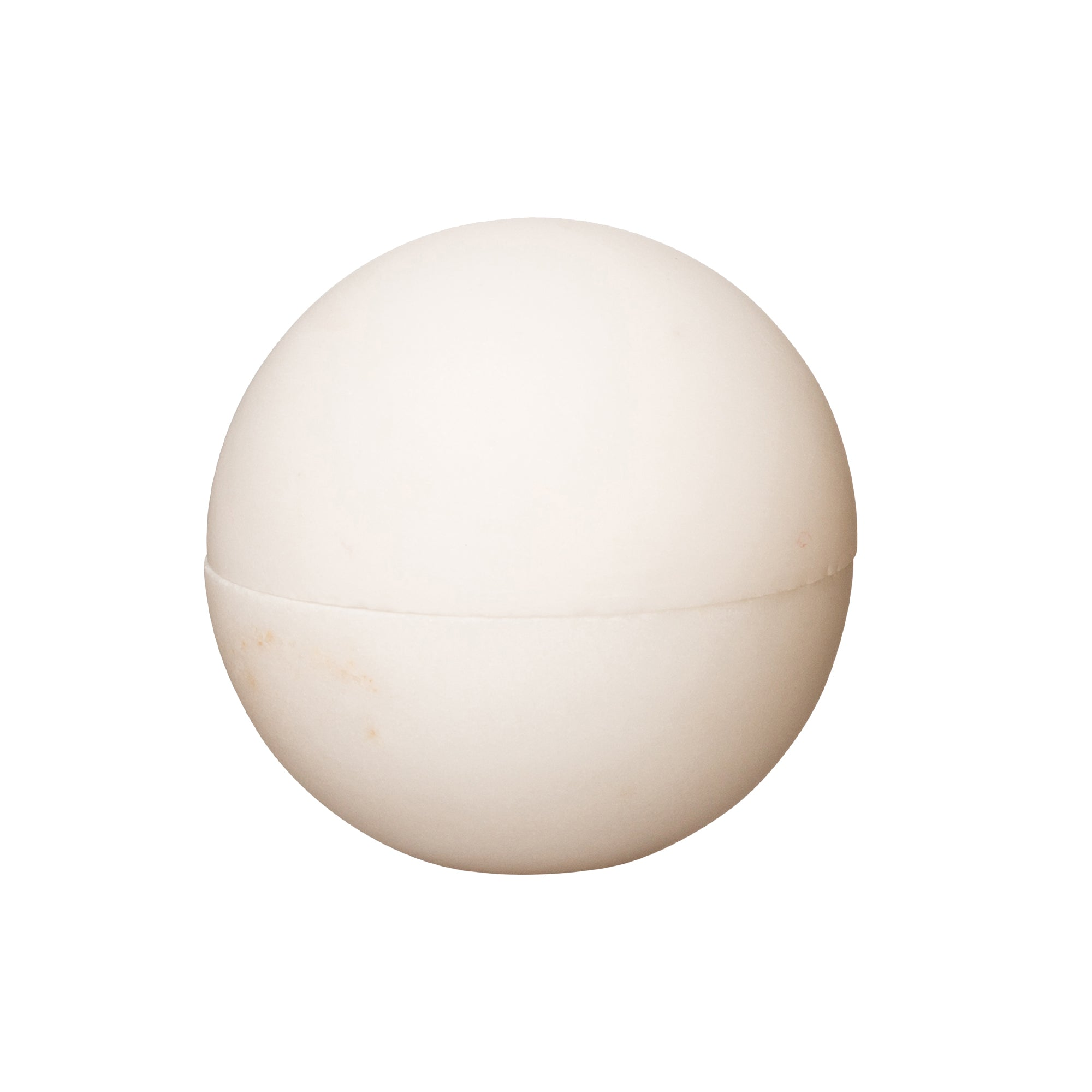 Small Pure White Marble Sphere Box