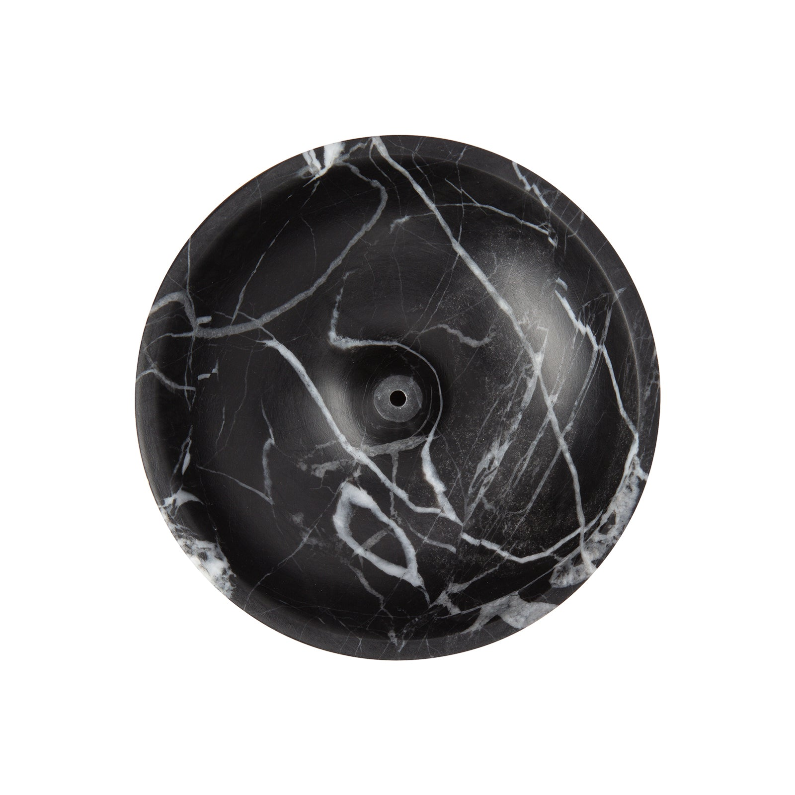 BE Home Small Incense Holder - Black Marble - Home & Decor - Broken English Jewelry
