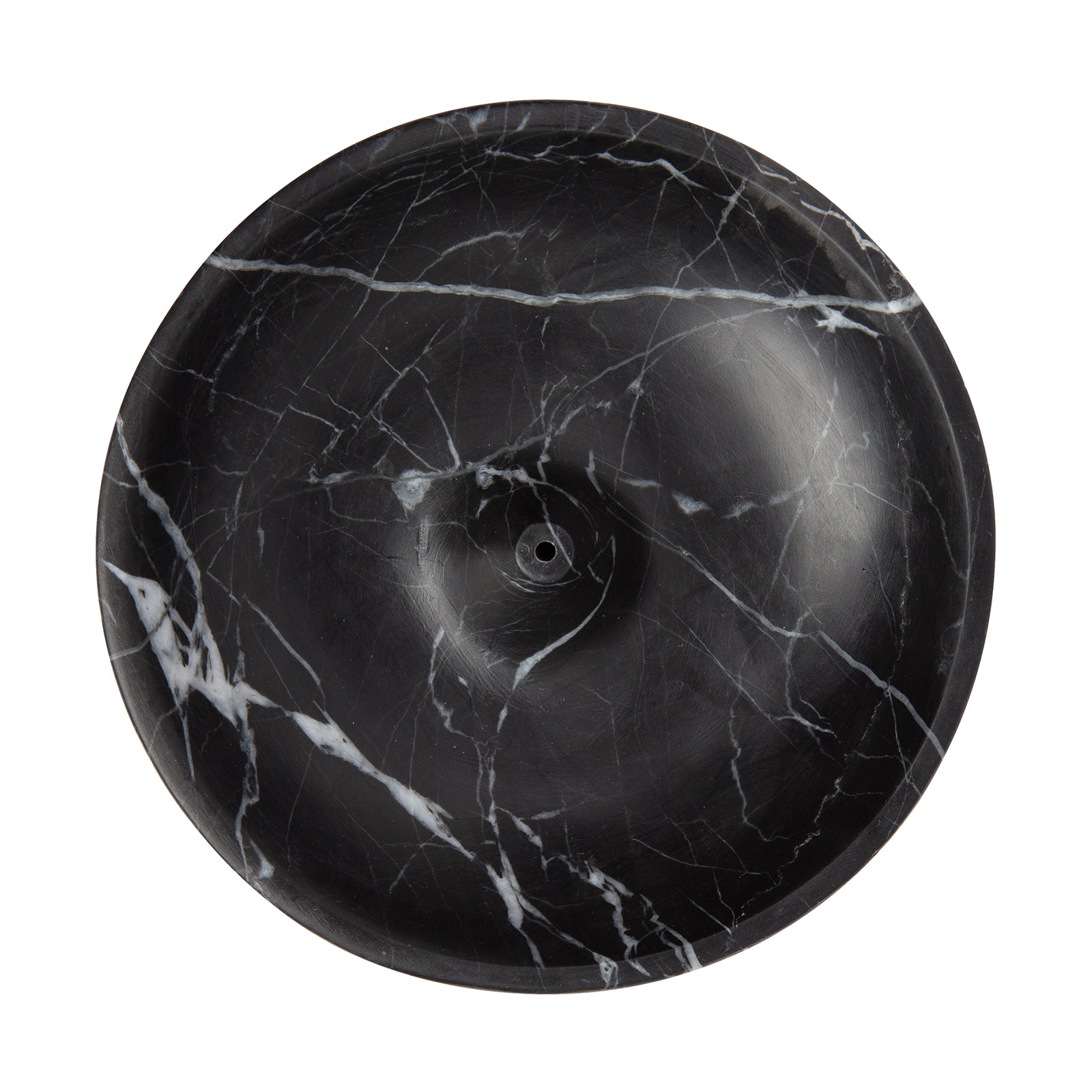 BE Home Large Incense Holder - Black Marble - Home & Decor - Broken English Jewelry