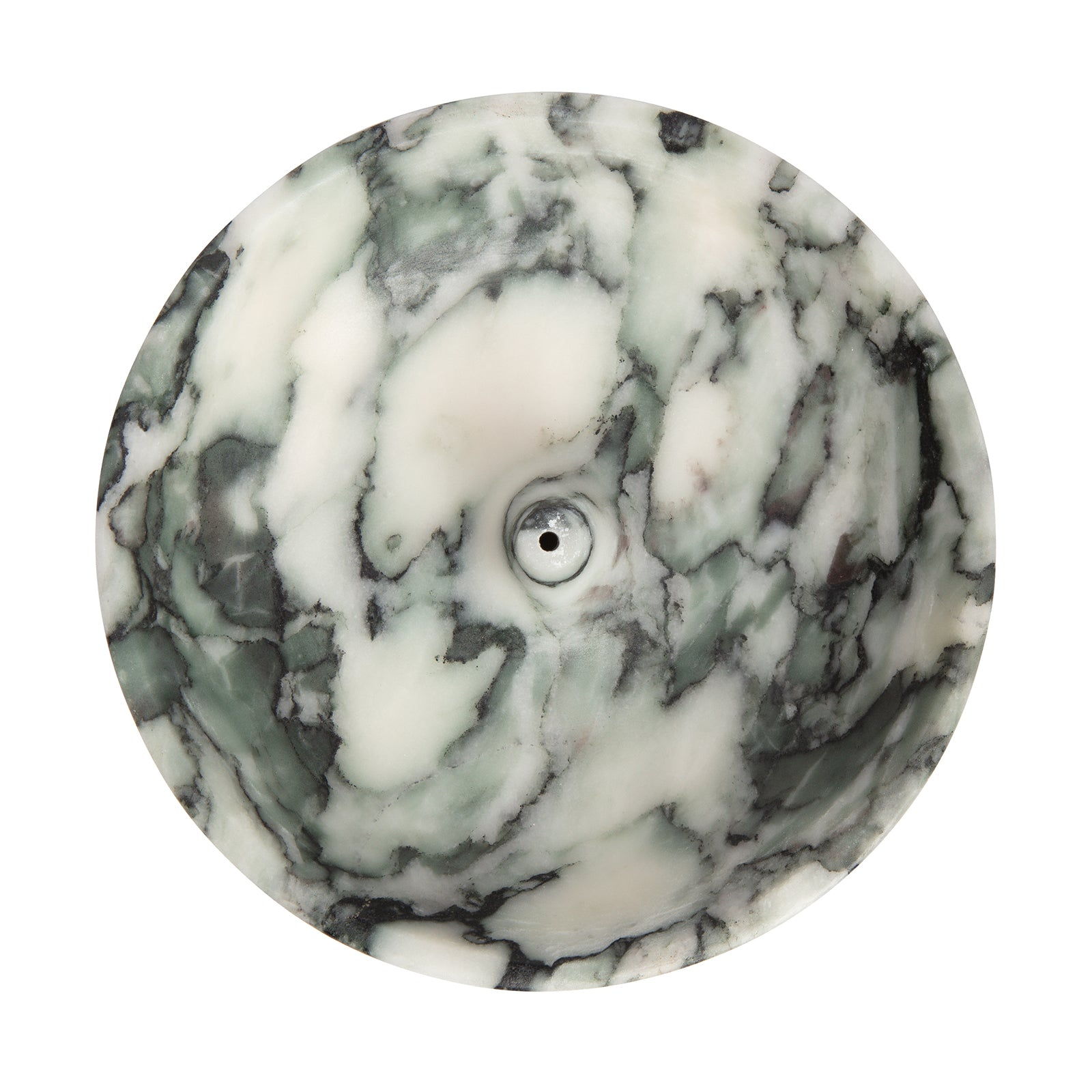 BE Home Large Incense Holder - Green Flower Marble - Home & Decor - Broken English Jewelry
