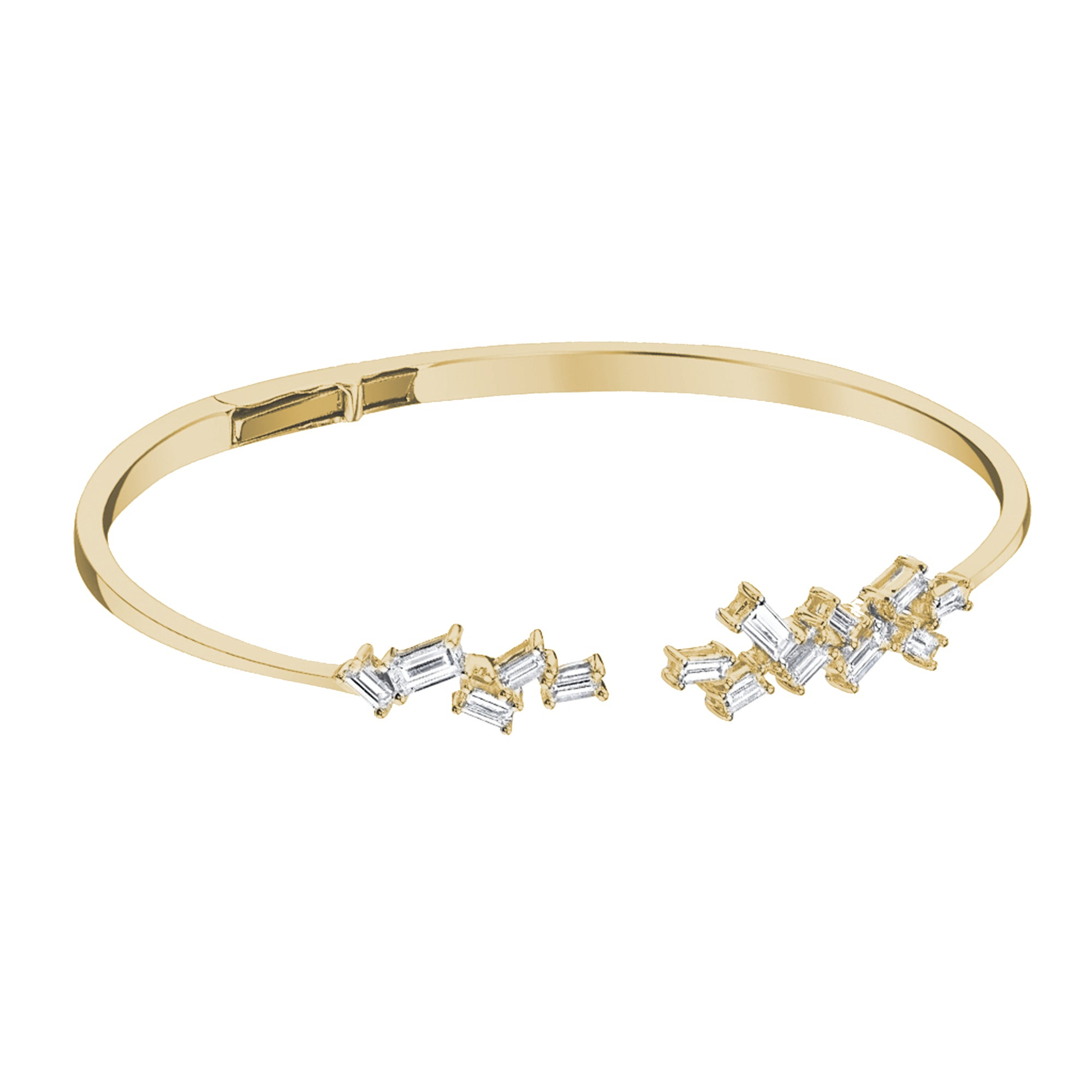 Open Hinged Bangle