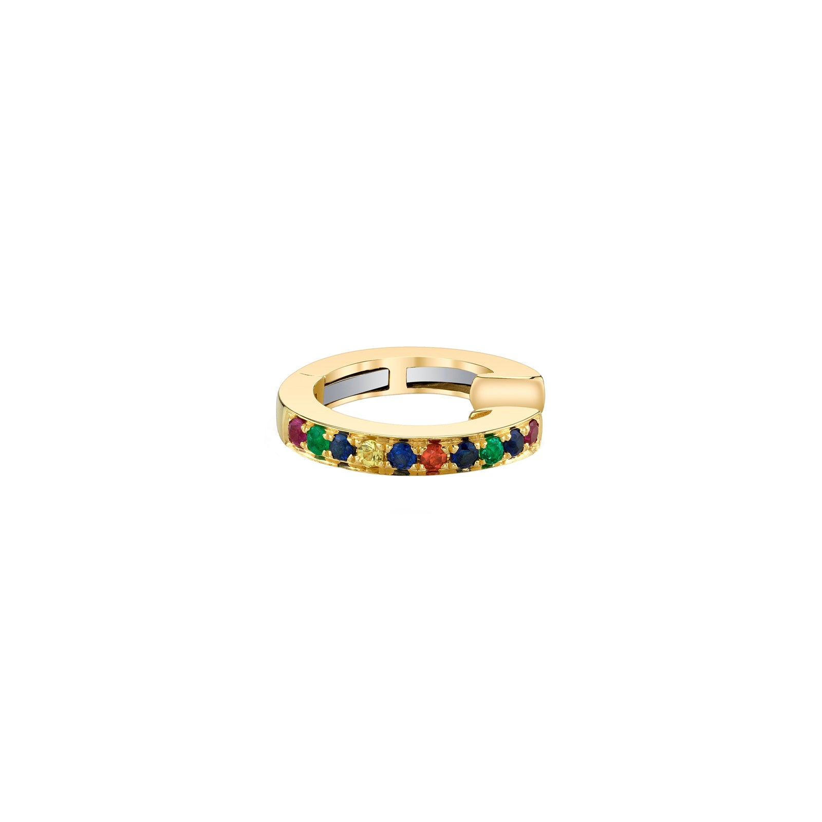 Multi-colored Earcuff by Borgioni for Broken English Jewelry