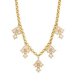 5 Cross Necklace