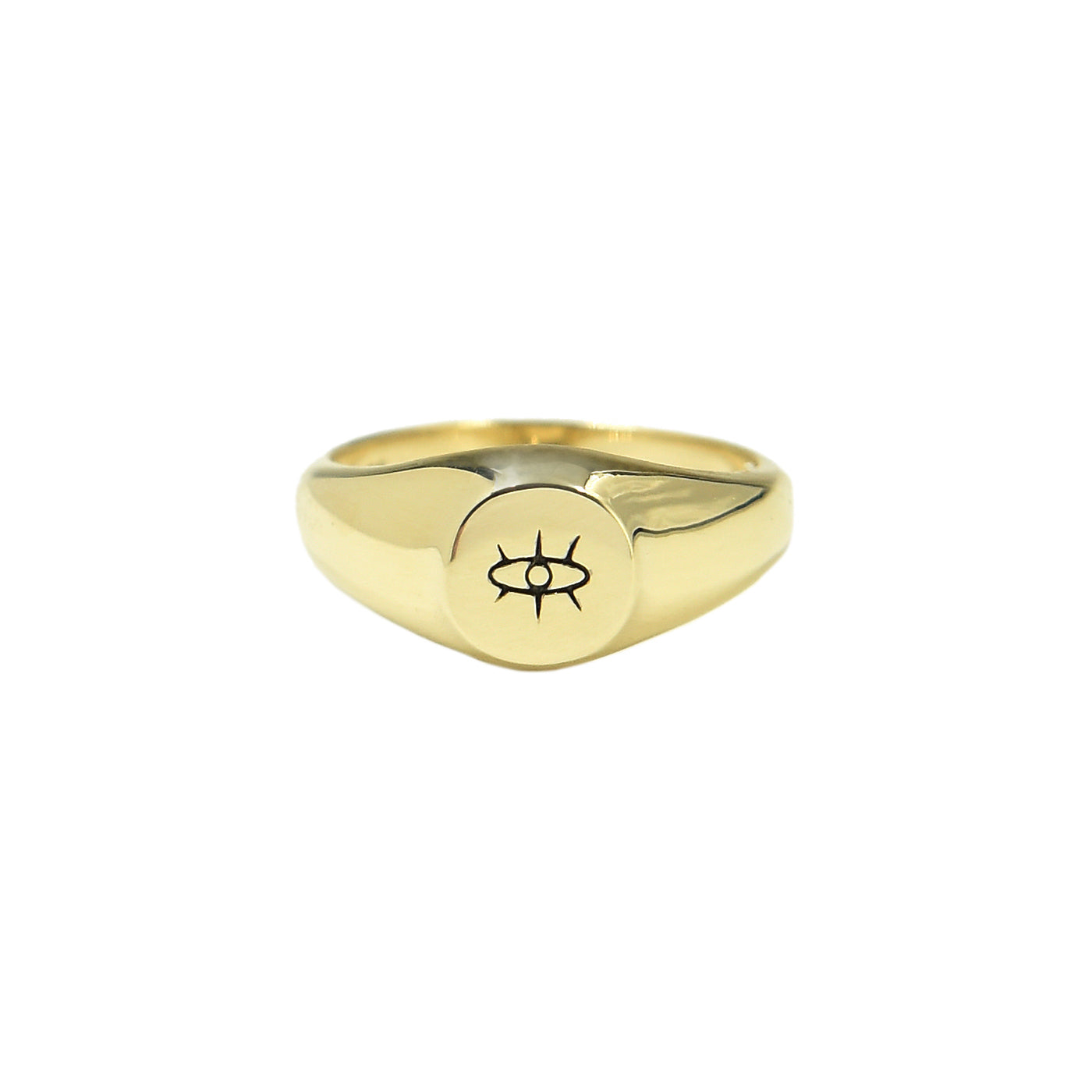 Veronica Signet Ring - Bondeye - Ring | Broken English Jewelry