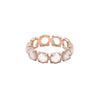 Rose Quartz Eternity Band - Bondeye - Ring | Broken English Jewelry