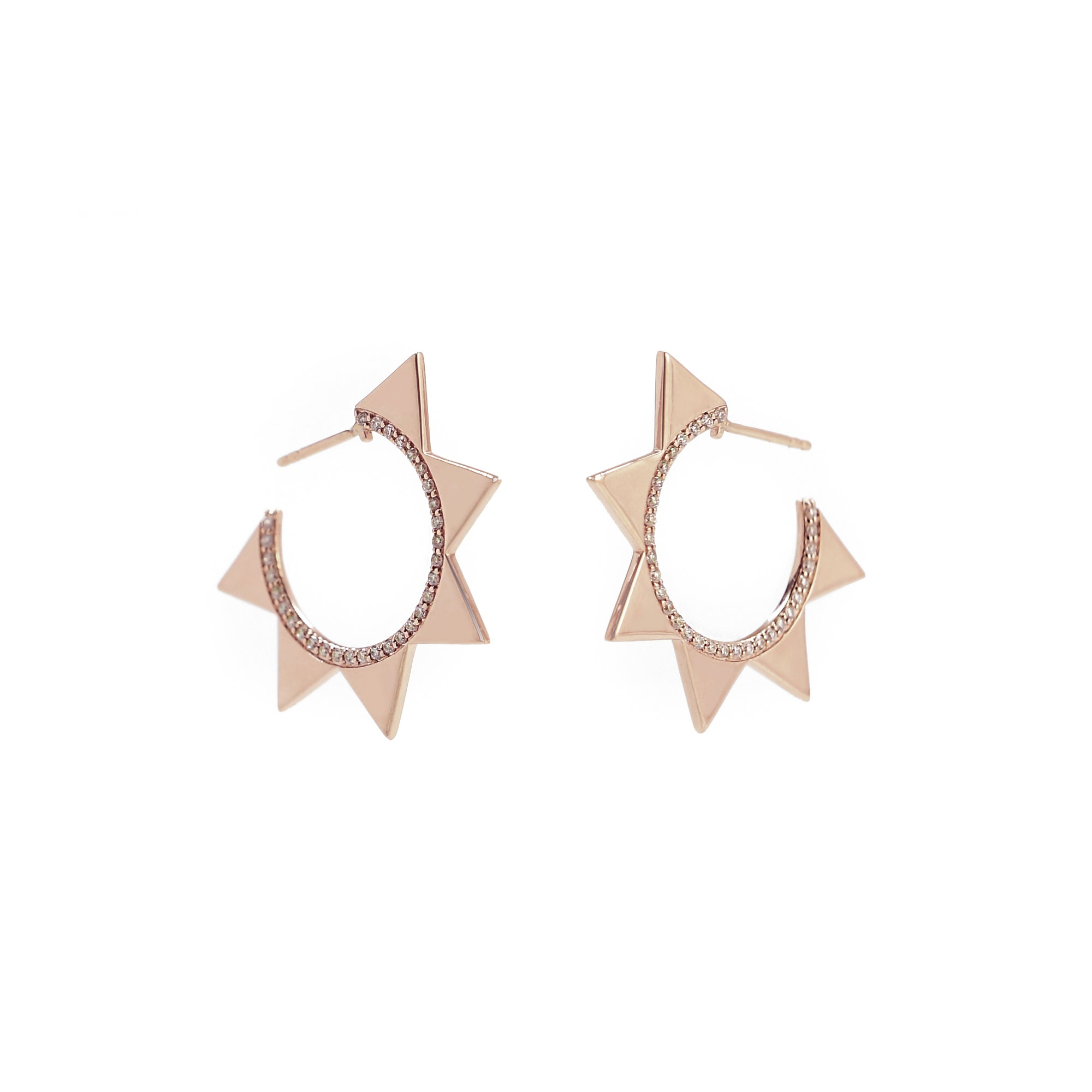 Venus Hoops - Bondeye - Earrings | Broken English Jewelry