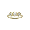 Michelle Fantaci Bridal Ring - Hexagonal Trio - Rings - Broken English Jewelry