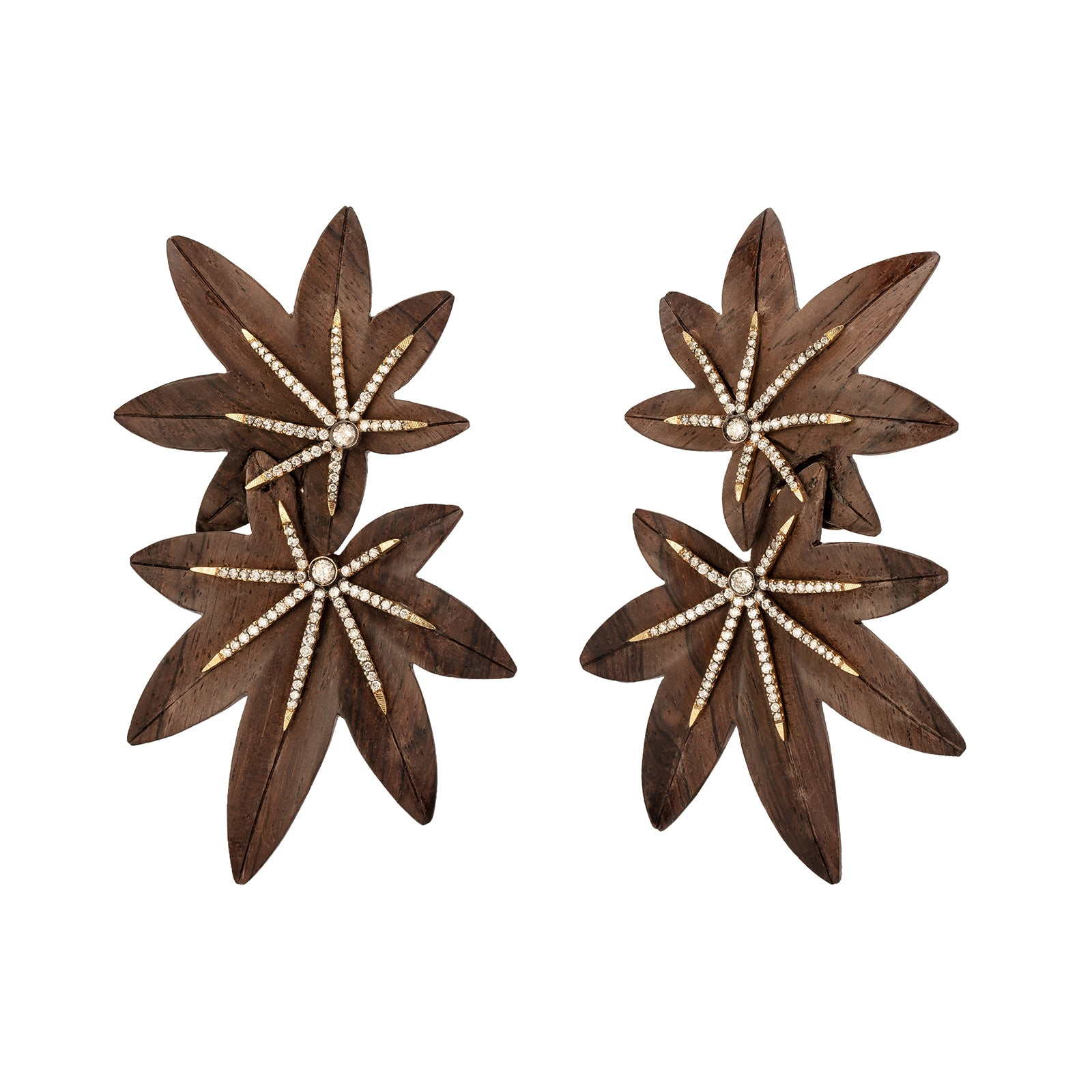 Silvia Furmanovich Obi Japanese Maple Leaf Earrings - Earrings - Broken English Jewelry