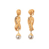 Silvia Furmanovich Bamboo Neutral Drop Earrings - Earrings - Broken English Jewelry