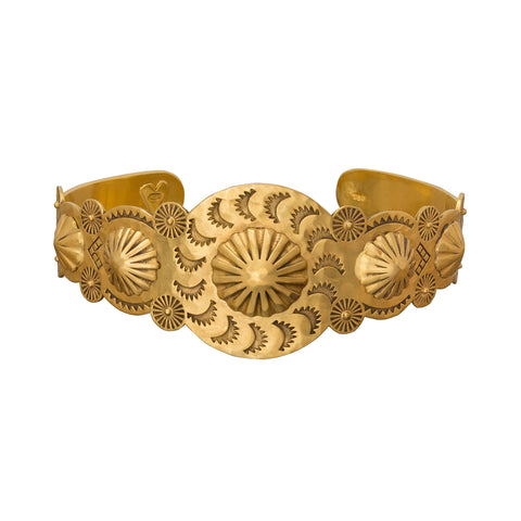 Native American Cocktail Cuff Bracelet - Christina Alexiou - Bracelets | Broken English Jewelry