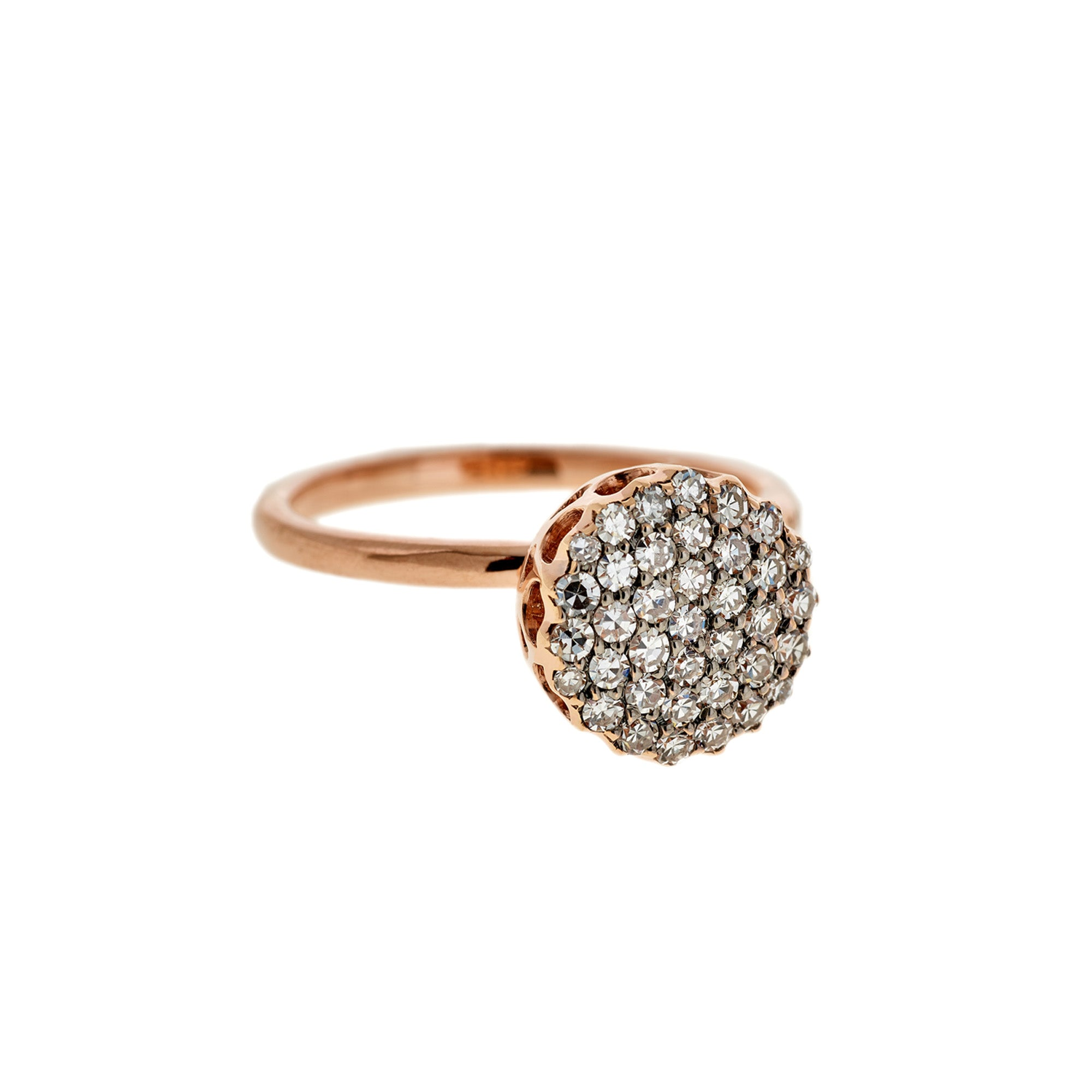 Selim Mouzannar Beirut Basic Ring - Pave Diamond - Rings - Broken English Jewelry