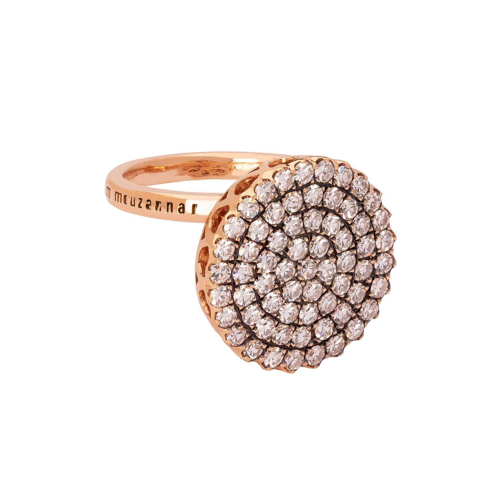 Selim Mouzannar Beruit Basic Ring - White Diamonds Large - Rings - Broken English Jewelry