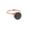 Selim Mouzannar Beirut Basic Ring - Pave Black Diamond - Rings - Broken English Jewelry