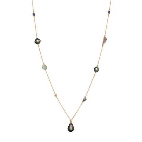 Galaxy Pearl Necklace - Bibi van der Velden - Necklace | Broken English Jewelry