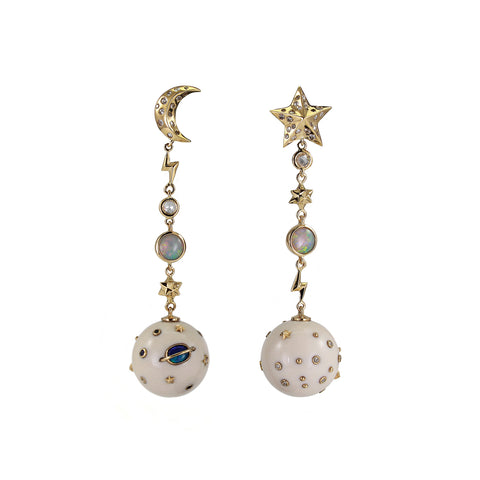Mammoth Galaxy Earrings - Bibi van der Velden - Earrings | Broken English Jewelry