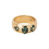 BaYou with Love Cigar Ring - Sapphire - Rings - Broken English Jewelry