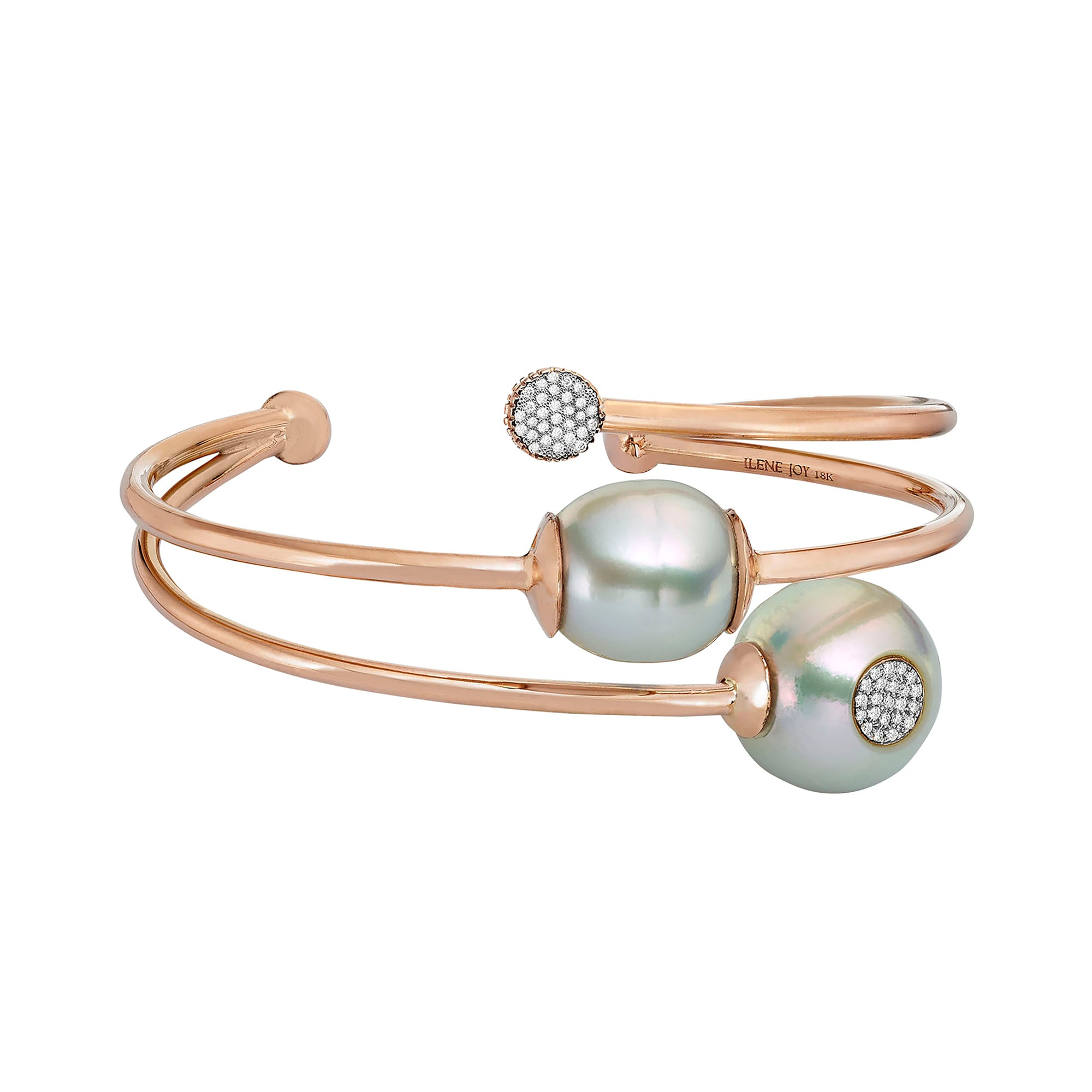 Duet Third Wheel Cuff - Ilene Joy - Bracelets | Broken English Jewelry