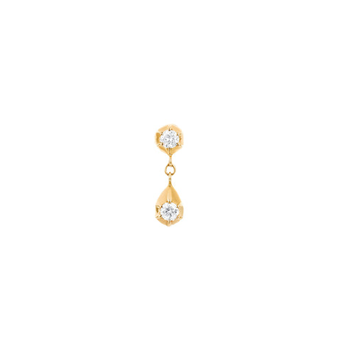 Diamond Belle Single Earring