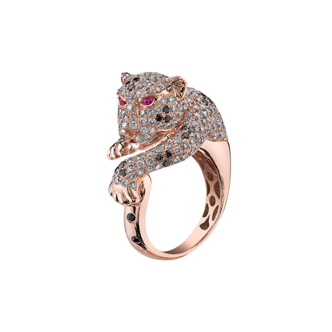 Panther Wrap Ring