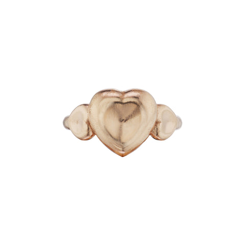 Triple Heart Ring - Christina Alexiou - Ring | Broken English Jewelry