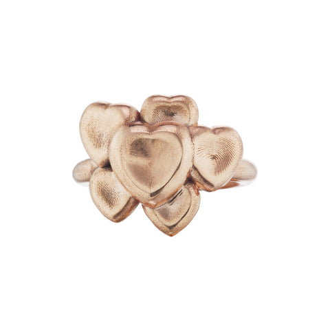 Multi Heart Ring - Christina Alexiou - Ring | Broken English Jewelry