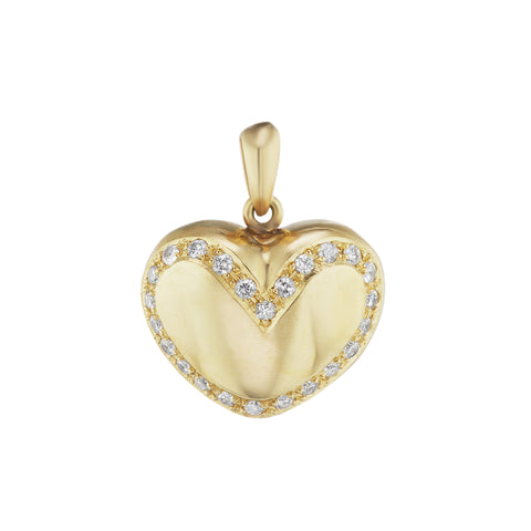 Heart Charm - Christina Alexiou - Pendants & Charms | Broken English Jewelry