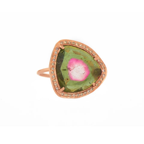 Stella Tourmaline Ring by Celine Daoust for Broken English Jewelry