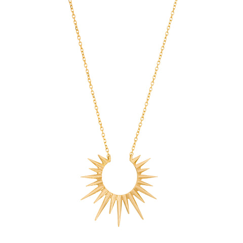 Full Sun Chain Necklace by Celine Daoust for Broken English Jewelry