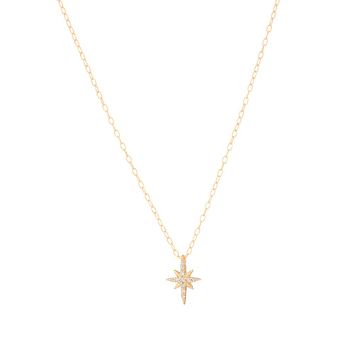 North Star Necklace - Celine Daoust - Necklaces | Broken English Jewelry