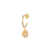 Sun & Moon Diamond Earring by Celine Daoust for Broken English Jewelry