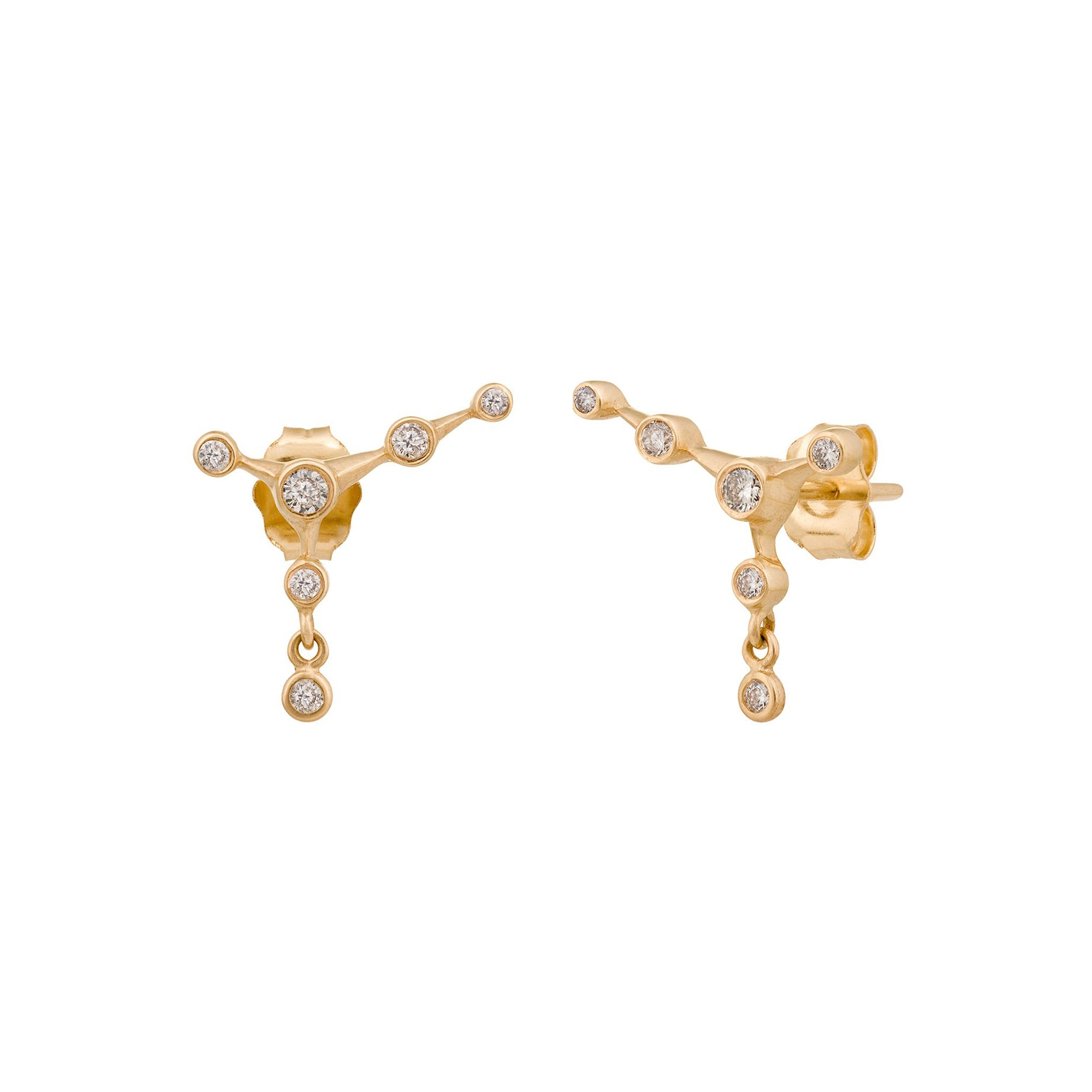 Diamond Constellation Studs