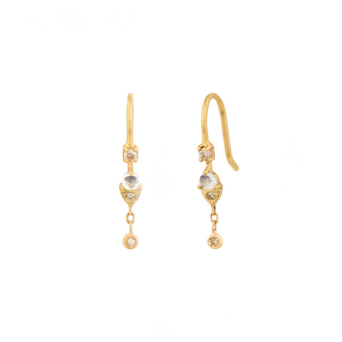 Dormeuse Earrings by Celine Daoust for Broken English Jewelry