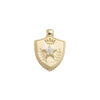 Foundrae Miniature Per Aspera Ad Astra Crest - Charms & Pendants - Broken English Jewelry