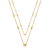 Aida Bergsen Flower Chain Necklace - Yellow Gold - Necklaces - Broken English Jewelry
