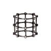 Patcharavipa Diamond Cage Ring - Black Gold - Rings - Broken English Jewelry