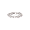Patcharavipa Chain Row Ring - White Gold - Rings - Broken English Jewelry
