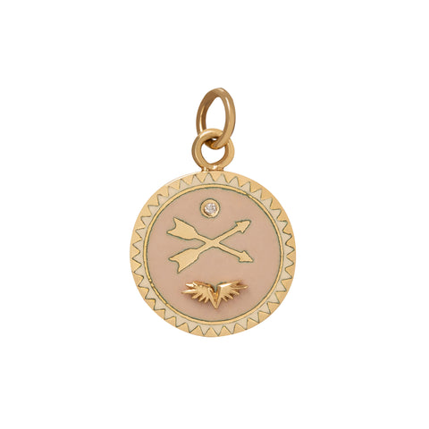 Passion Petite Medallion - Foundrae - Charms & Pendants | Broken English Jewelry