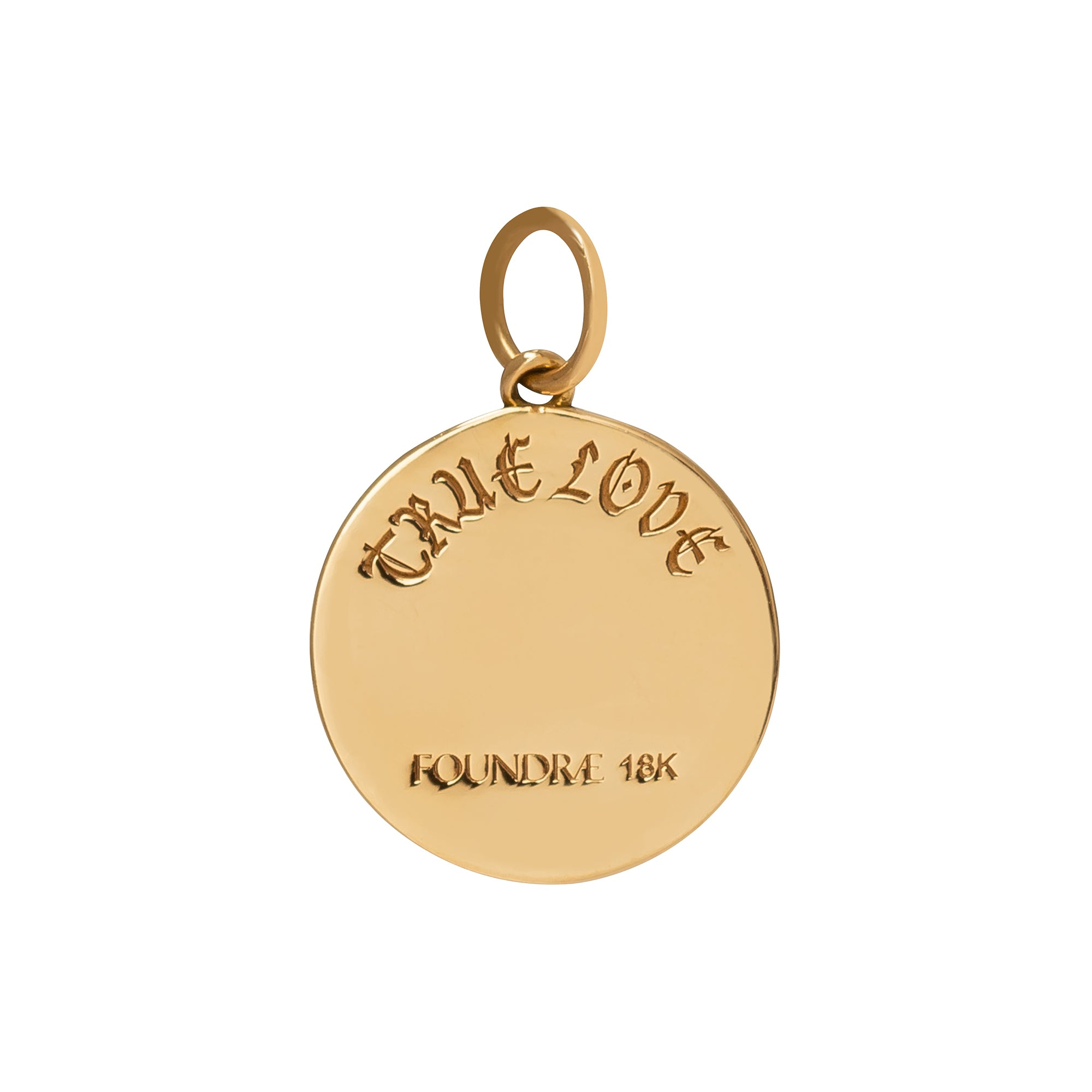 Petite True Love Medallion  - Foundrae - Charms & Pendants | Broken English Jewelry