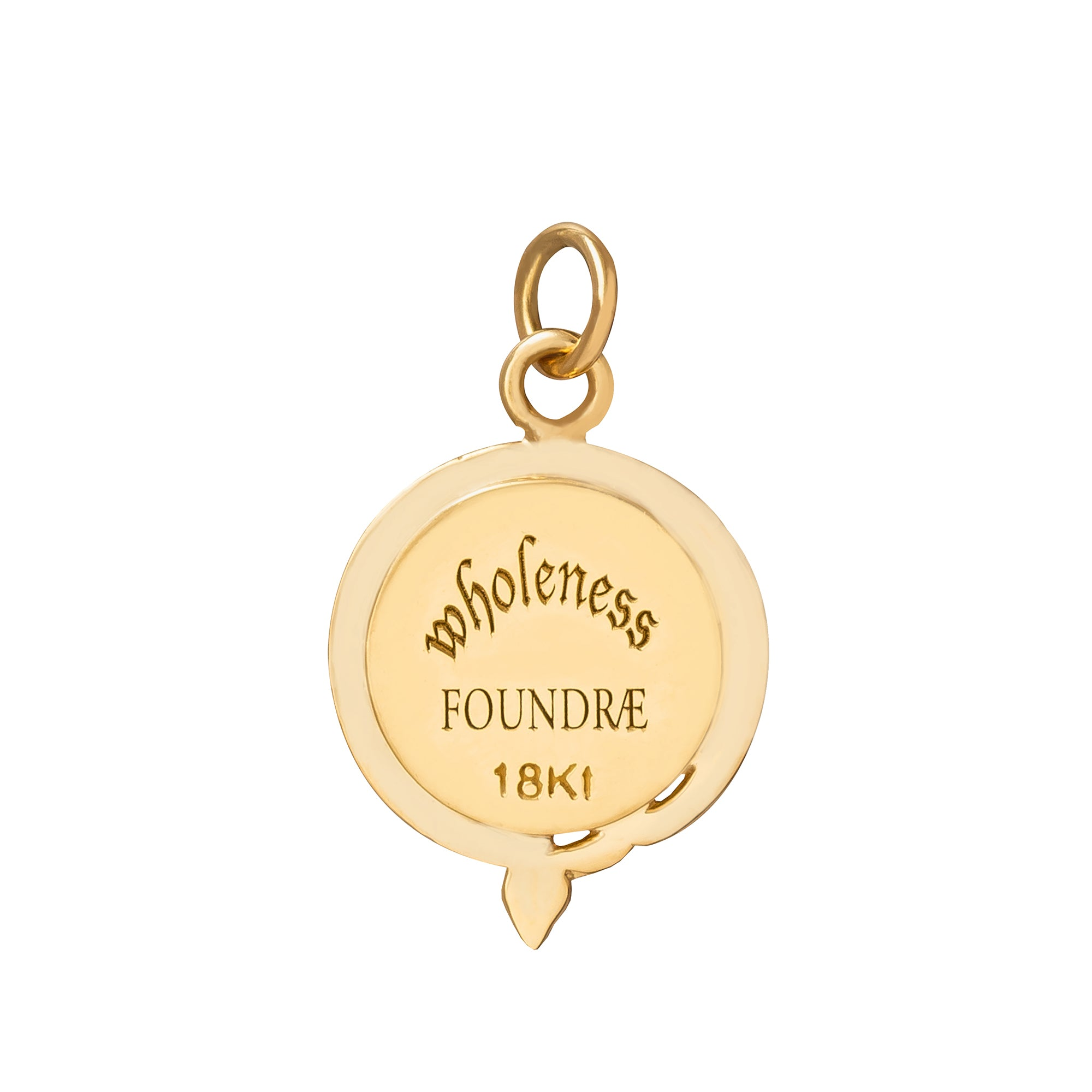 Petite Wholeness Medallion - Foundrae - Charms & Pendants | Broken English Jewelry