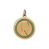 Foundrae Medium Horseshoe Medallion - Charms & Pendants - Broken English Jewelry